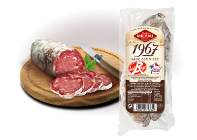 Saucisson Sec 1967 Label Rouge
