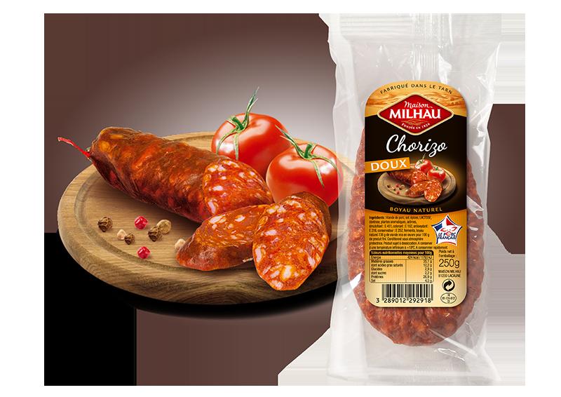 Chorizo doux Maison Milhau