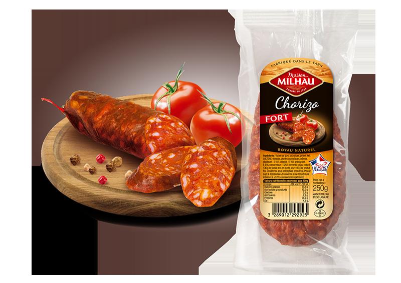 Chorizo fort Maison milhau