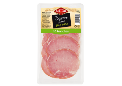 Bacon fumé