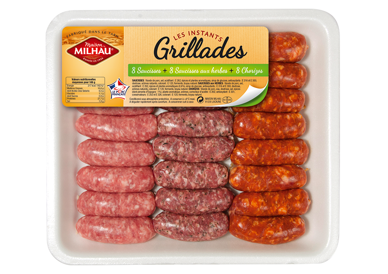 Assortiment de saucisses Mini Trio