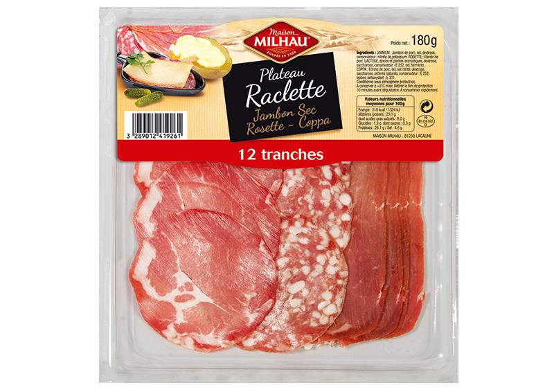Plateau Raclette Maison milhau