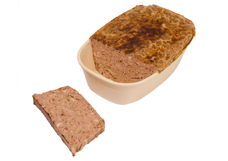 Pâté aux cèpes traditionnel Maison milhau