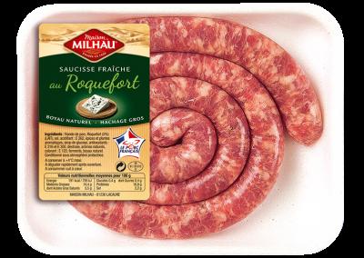 Saucisse Fraîche au Roquefort