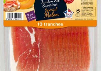 Jambon Sec Supérieur Spécial Melon